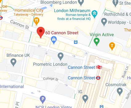 Cannon Street Map